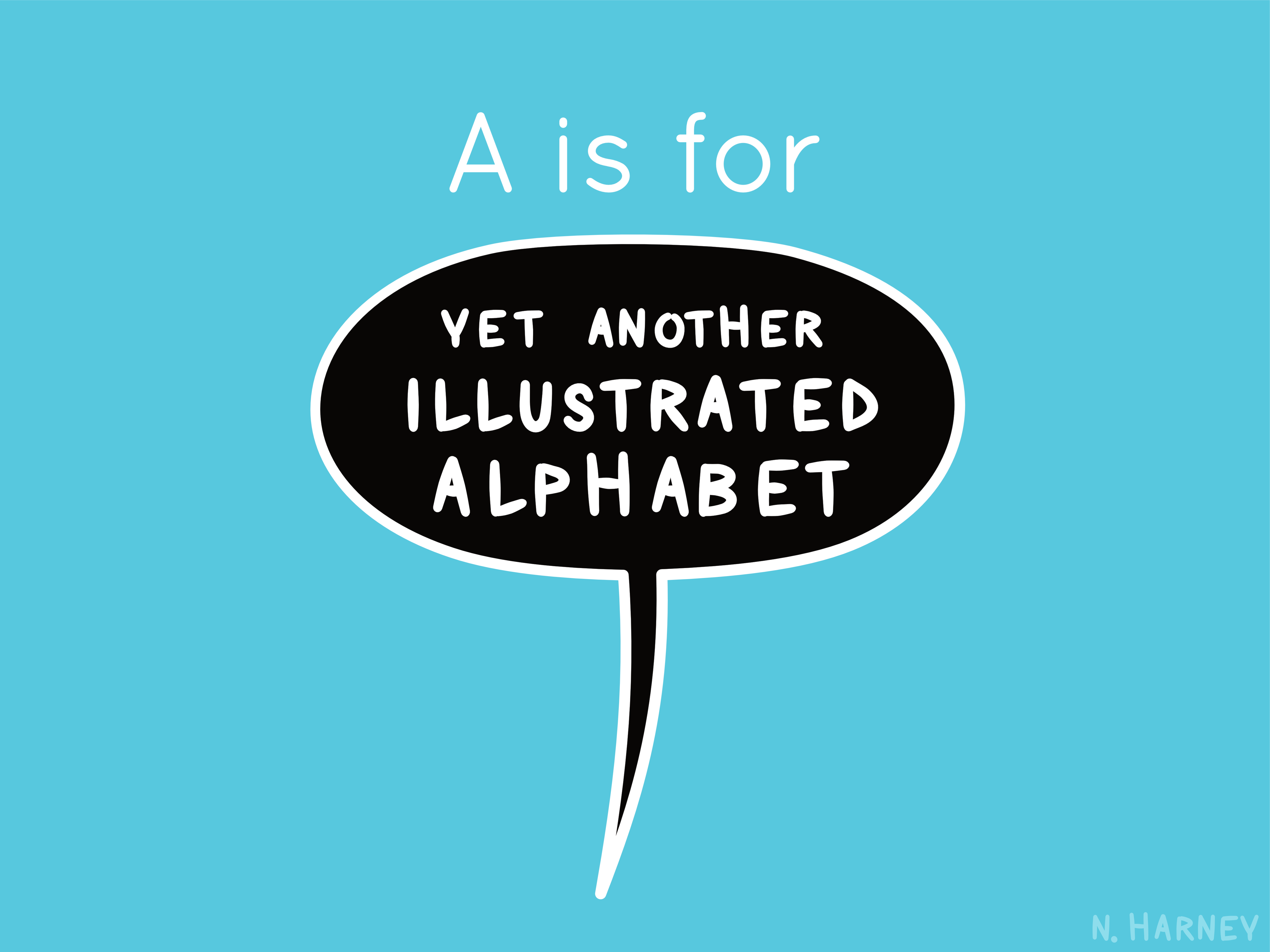designer's alphabet letter a