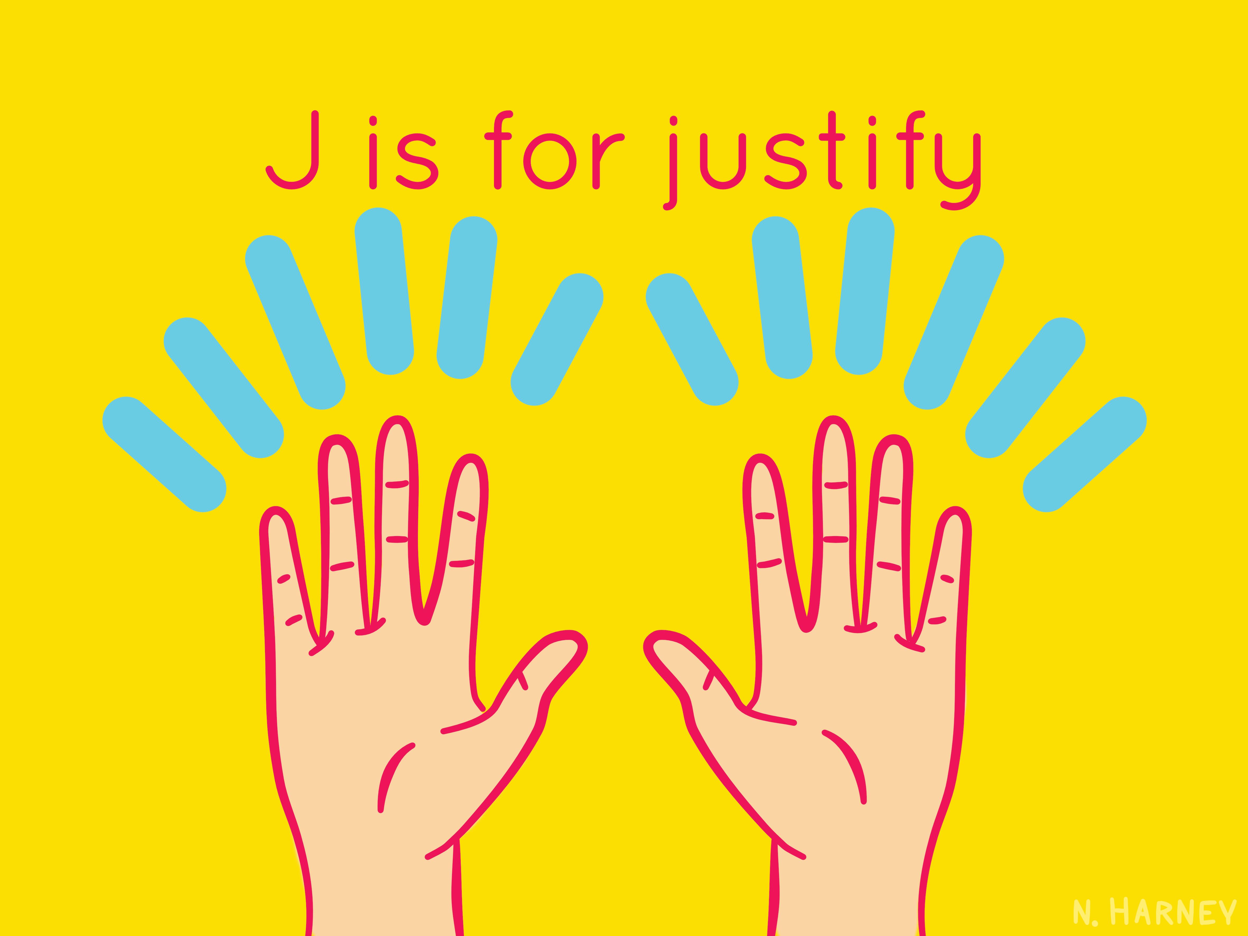 designer's alphabet letter j