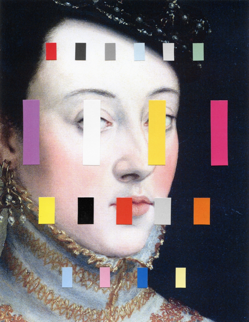 chad-wys-portrait-with-a-spectrum-4-collage-on-paper-2014-105-x-81
