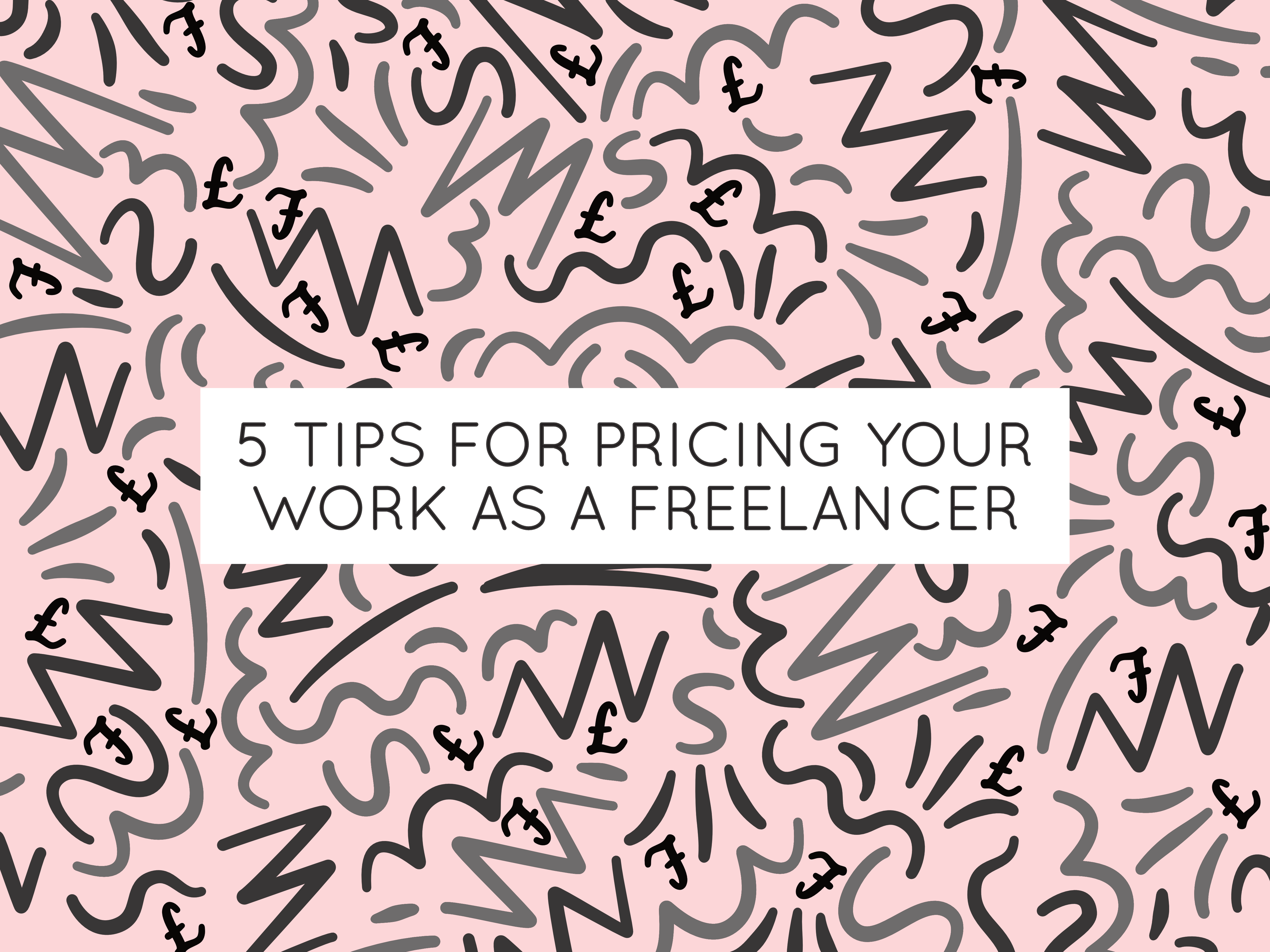how to price your work as a freelancer