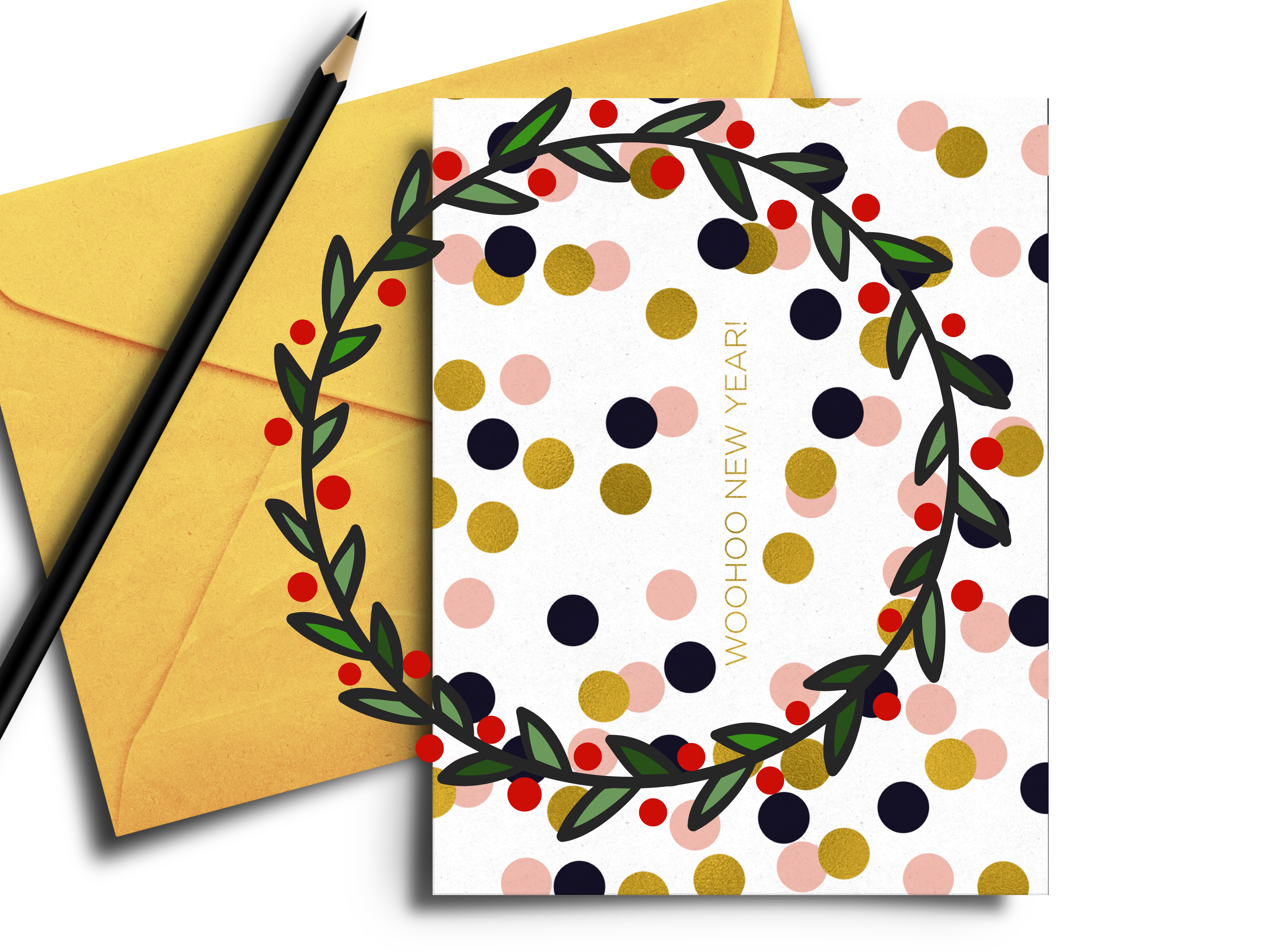 FREE printable happy new year card