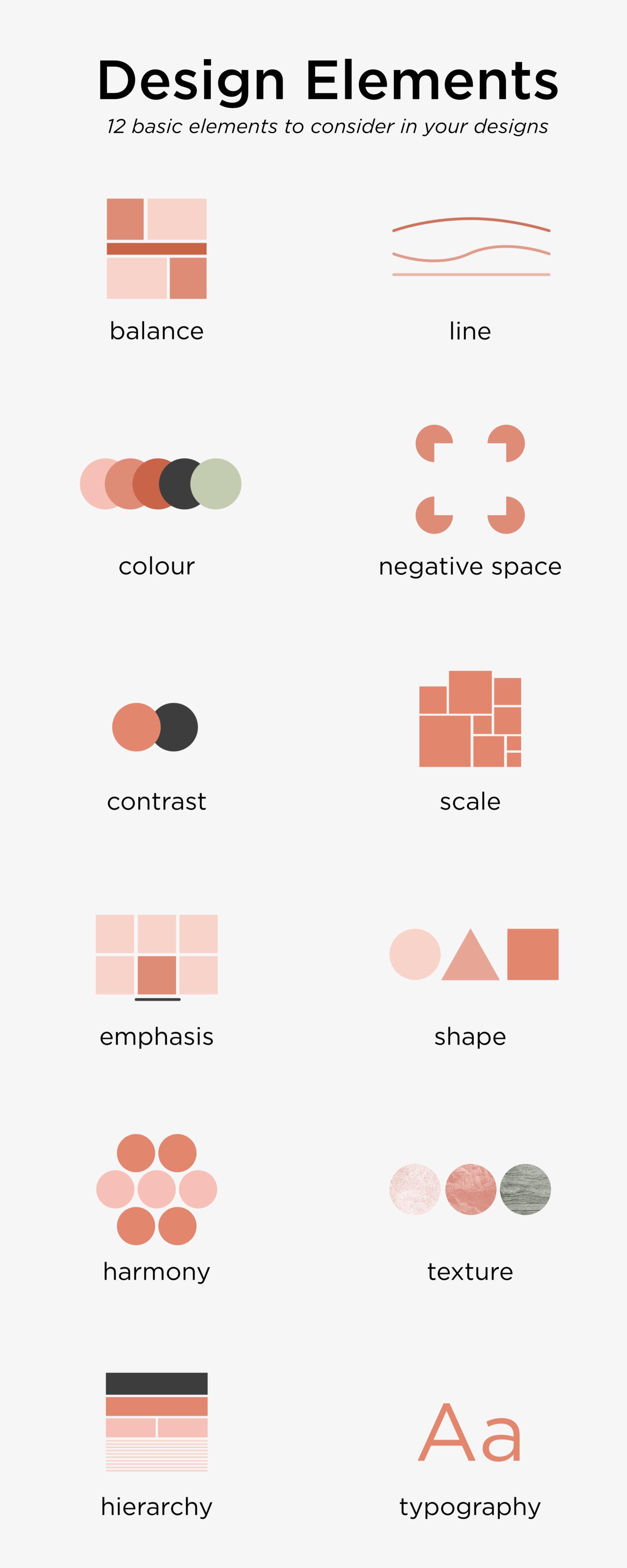 12 Basic Design Elements – Work Over Easy