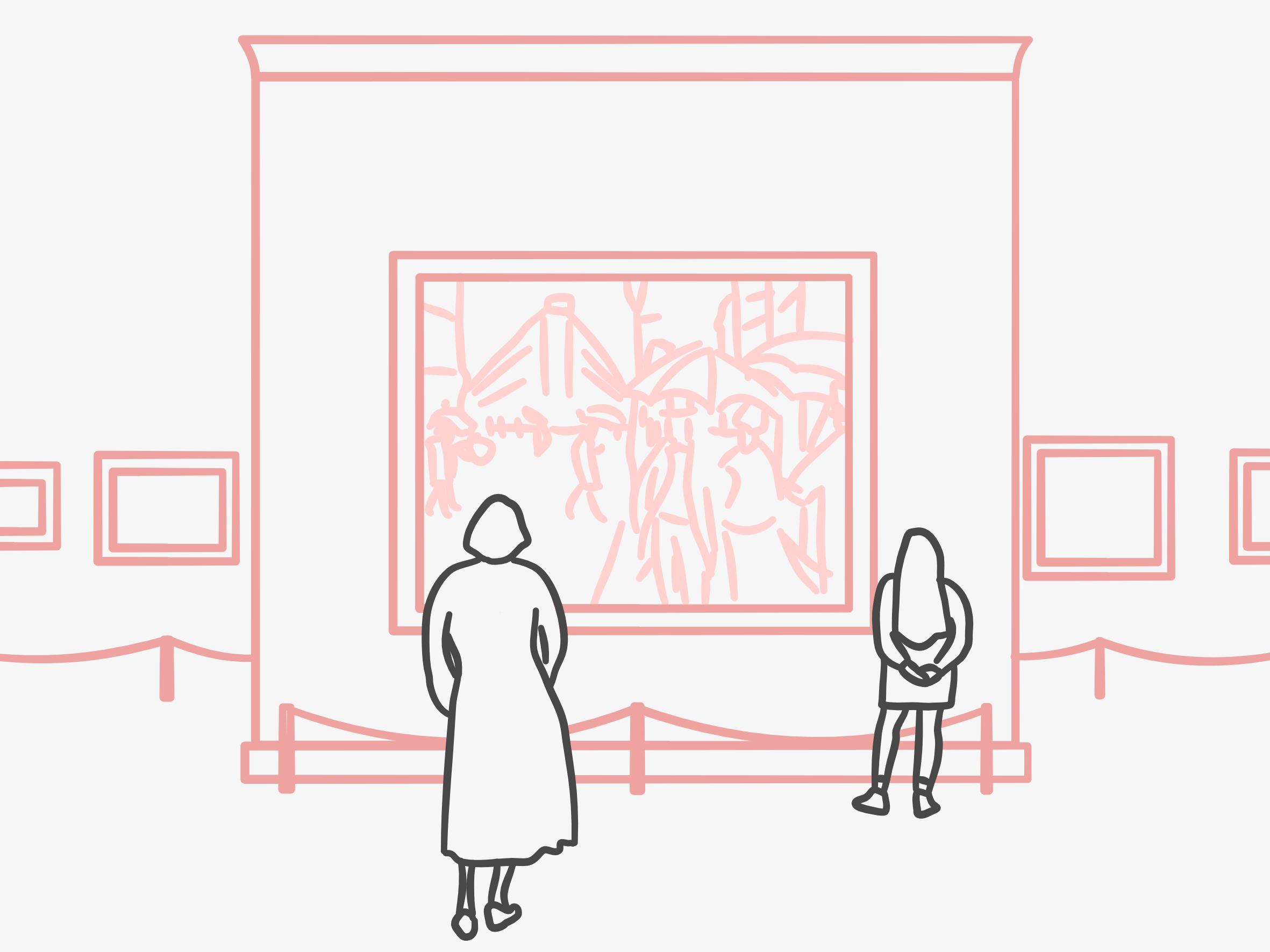 The joy of slowing down in art galleries