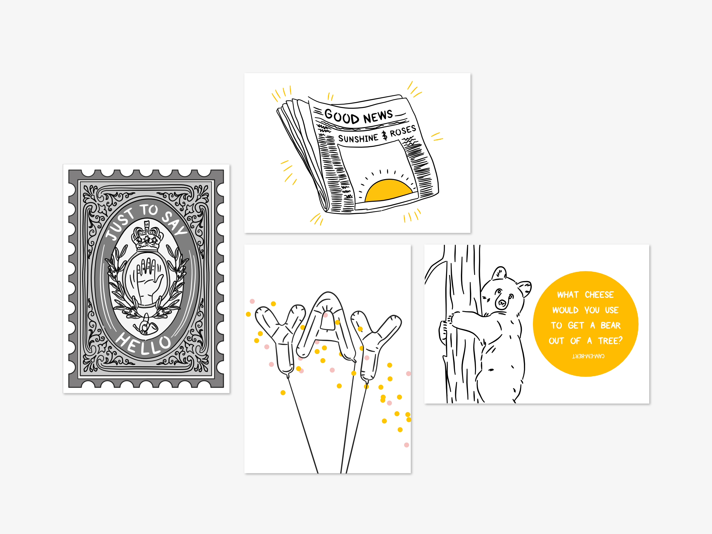 The Story Behind: My Greeting Card Designs
