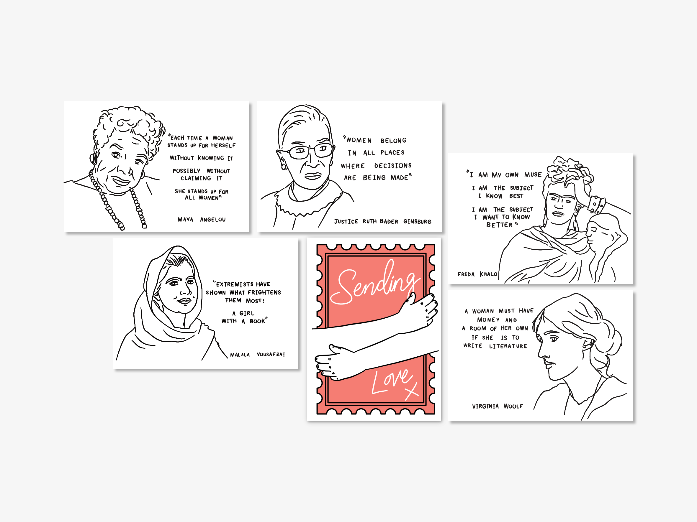 The Story Behind: My Postcard Designs