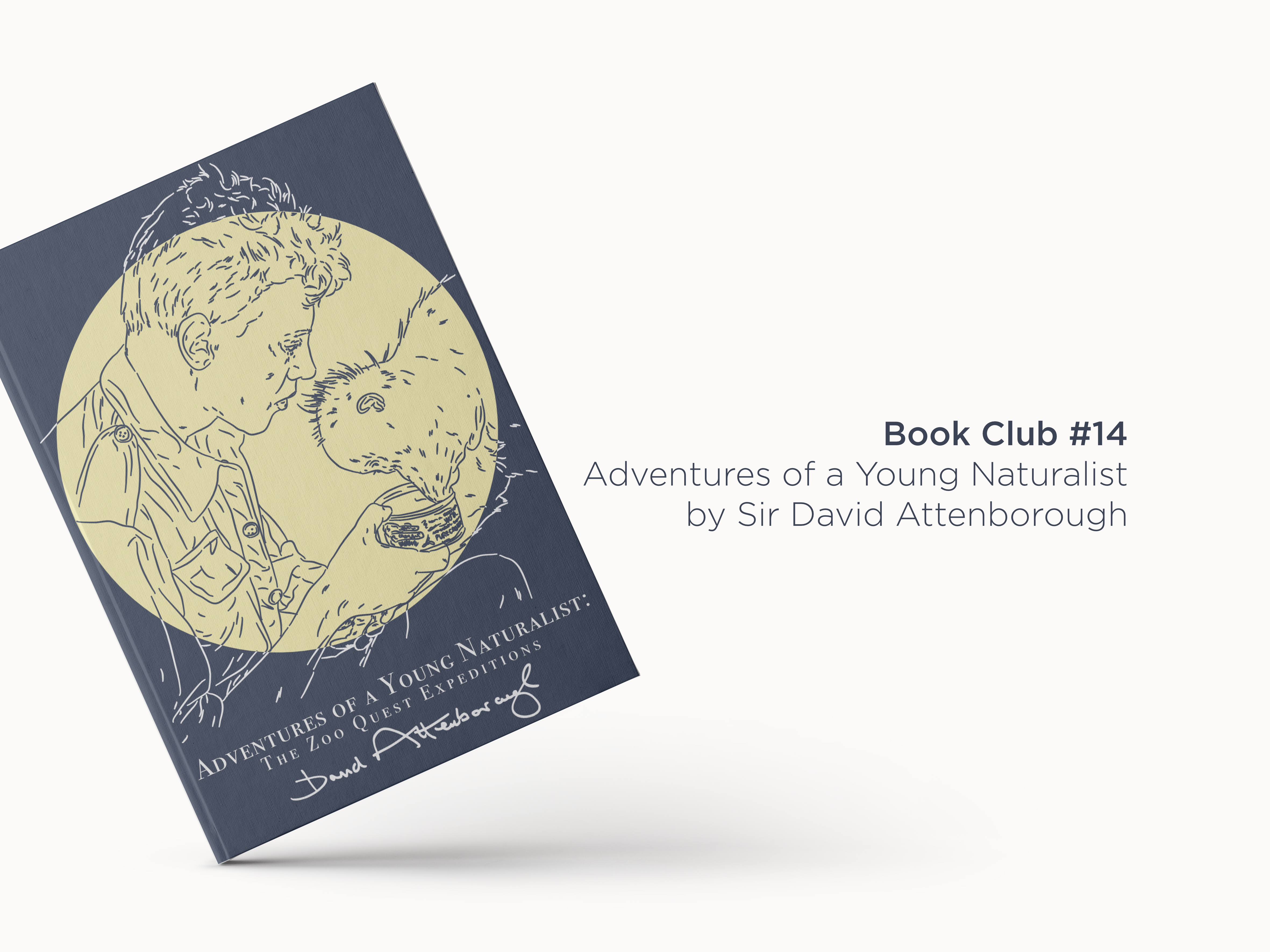 Book Club 14: Adventures of a Young Naturalist by David Attenborough